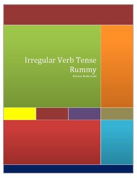 Irregular Verb Tense Rummy