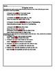 Irregular Verb Worksheet