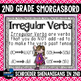 Irregular Verbs I have, Who has, scoot, and puzzles