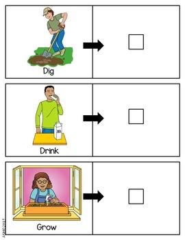 Irregular Verb Matching Cards