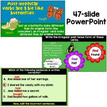 Irregular Past Tense Verbs: A Bundle of Activities!
