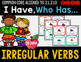 Irregular Verbs - I Have Who Has Game - Set 2