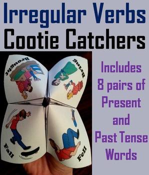 Irregular Past Tense Verbs Activity 2nd, 3rd, 4th Grade