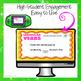 Irregular Verbs Digital Task Cards for Google Drive