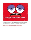 Irregular English Verbs APP, Part 1