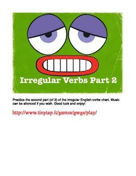 Irregular English Verbs APP, Part 2