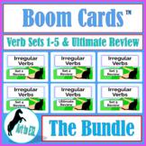 Irregular Verbs BOOM CARDS™ BUNDLE Set 1-5 & Ultimate Review