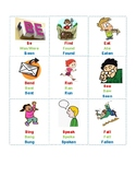Irregular Verbs Bingo (Past tenses)