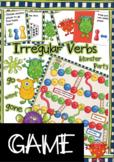 Irregular Verbs Boardgame - Monster Party