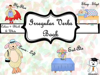 Irregular Verbs Book
