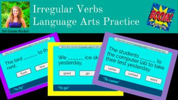 Irregular Verbs Boom Game!