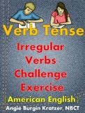 Irregular Verbs Challenge Exercise