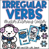 Irregular Verbs (Winter themed matching activity}