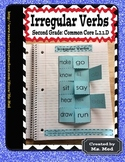 Irregular Verbs Common Core Second Grade L.2.1.D Interactive Notebooks