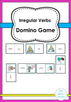 Irregular Verbs Domino