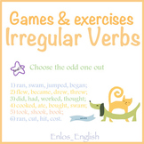 Irregular Verbs Exercises and Games