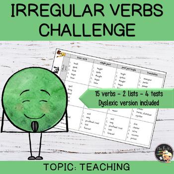 Irregular Verbs Challenge #10