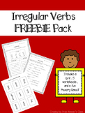Irregular Verbs FREEBIE Pack