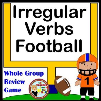 Irregular Verbs Football (Classroom Grammar Activity)