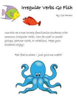 Irregular Verbs Go Fish