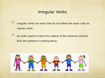 Irregular Verbs Have and Do