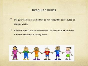 Irregular Verbs Have and Do