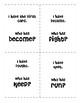 Irregular Verbs I have Who Has