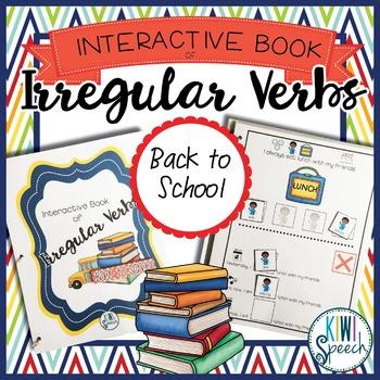 Irregular Verbs Interactive Book {BACK TO SCHOOL}
