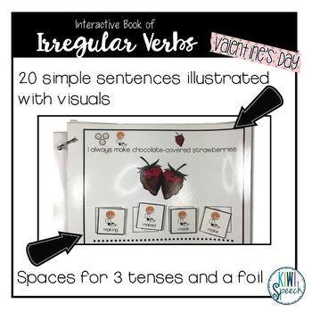 Irregular Verbs Interactive Book {VALENTINE'S DAY}