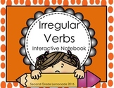 Irregular Verbs Interactive Notebook