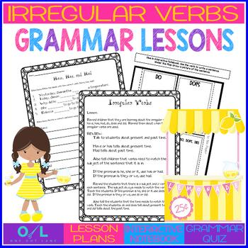 Irregular Verbs {Journeys} Week #23
