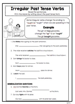 Irregular Verbs MEGAPACKET, Syntax, Speech Therapy