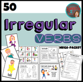 Irregular Verbs MEGAPACKET, Syntax, Speech Therapy
