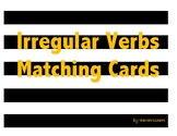 Irregular Verbs Matching Cards (Present and Past Tense)
