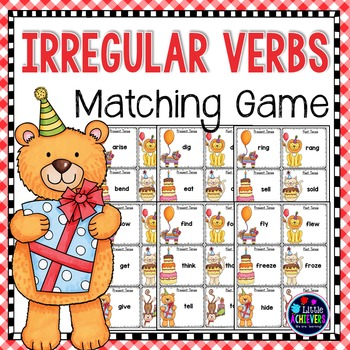 Irregular Verbs Match Game