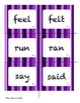 Irregular Verbs Matching Game, Sort, and Extension Activities