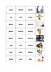 Irregular Verbs Memory Cards