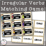 Irregular Verbs Memory / Matching Game