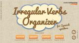 Irregular Verbs Organizer for Spanish Speakers - for Mobil