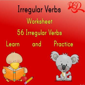 Irregular Verbs (Part 1)