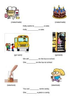 Irregular Verbs Past & Present