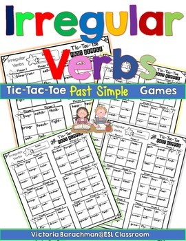Irregular Verbs- Past Simple-  / Tic Tac Toe Games/