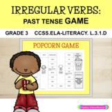 Irregular Verbs: Past Tense - Popcorn Game