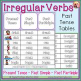 Irregular Verbs Past Tense Tables