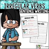 Irregular Verbs Worksheets - Sentence Building Writing Center