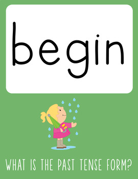 Irregular Verbs PowerPoint - See and Say