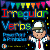 Irregular Verbs PowerPoint and Worksheets