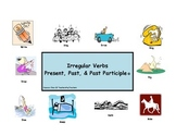 Irregular Verbs - Present, Past, Past Participle  (booklet)