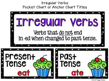 Irregular Verbs Printables