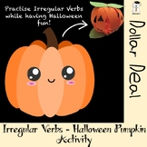 Irregular Verbs - Halloween Pumpkin Activity #Halloween2018